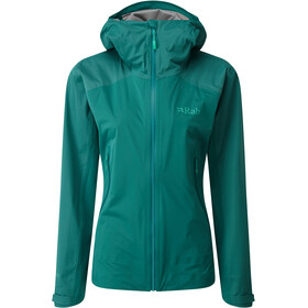 Rab Kinetic Alpine Jacket Women, atlantis